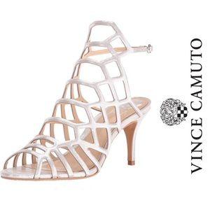 Vince Camuto | Paxton Metallic Slingback Sandal, 6